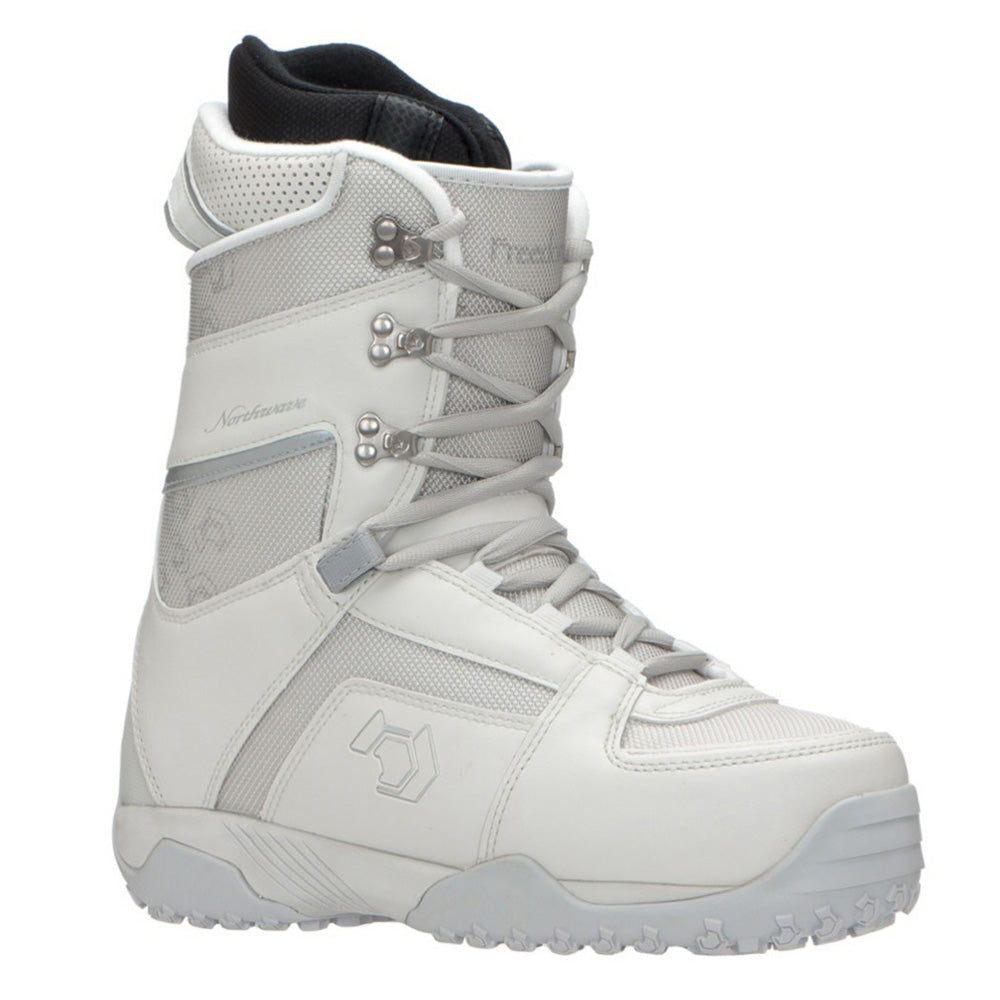 Northwave Freedom Snowboard Boots Off White Silver Womens 7