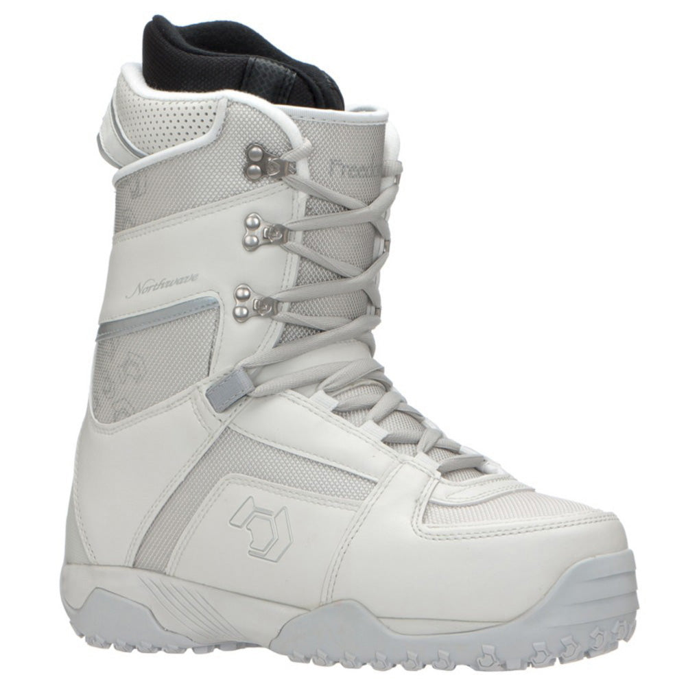 Northwave Freedom Snowboard Boots Off White Silver Kids Size 4