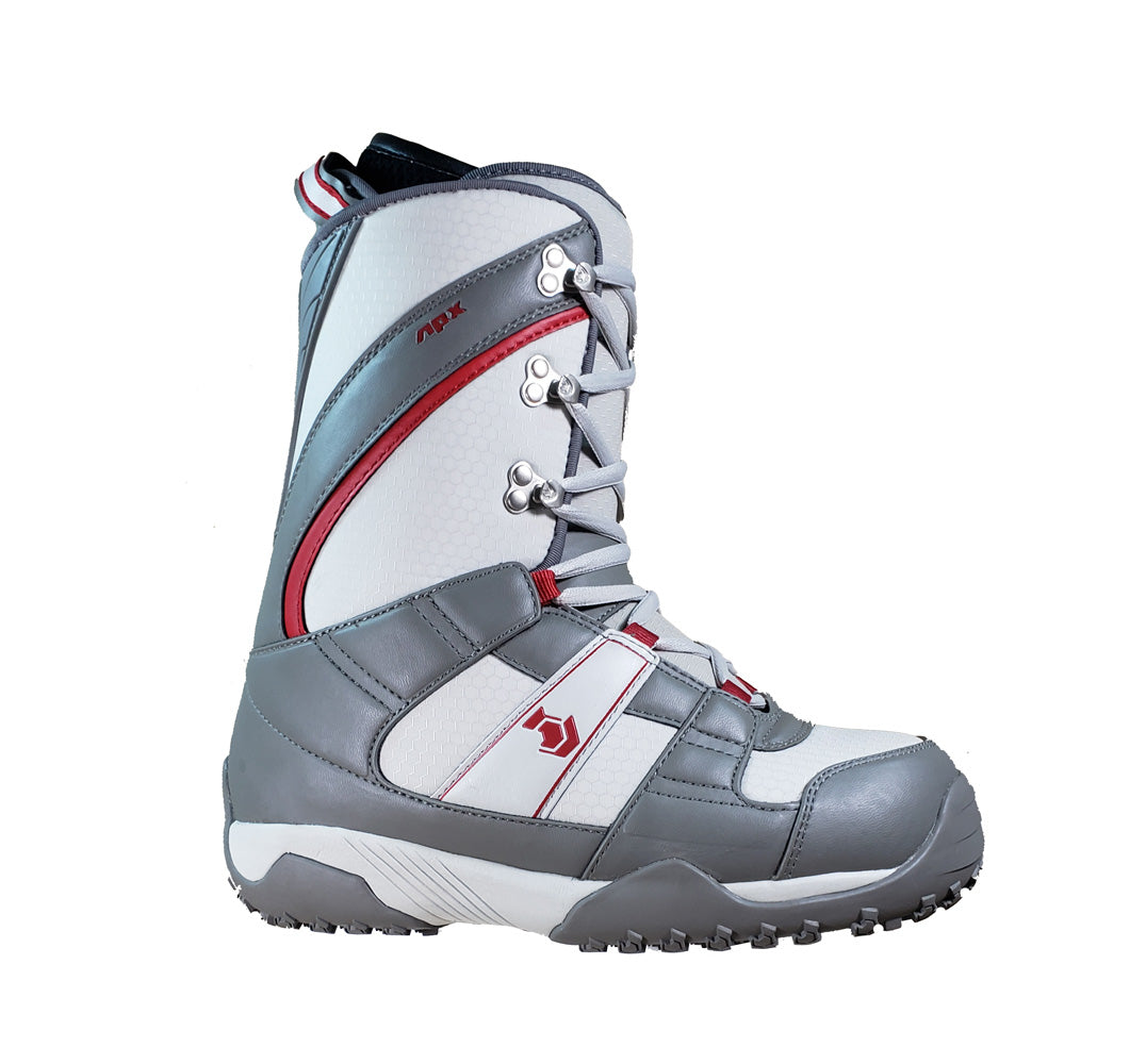 Northwave Freedom Japan Snowboard Boots Gray Red Mens Size 8.5
