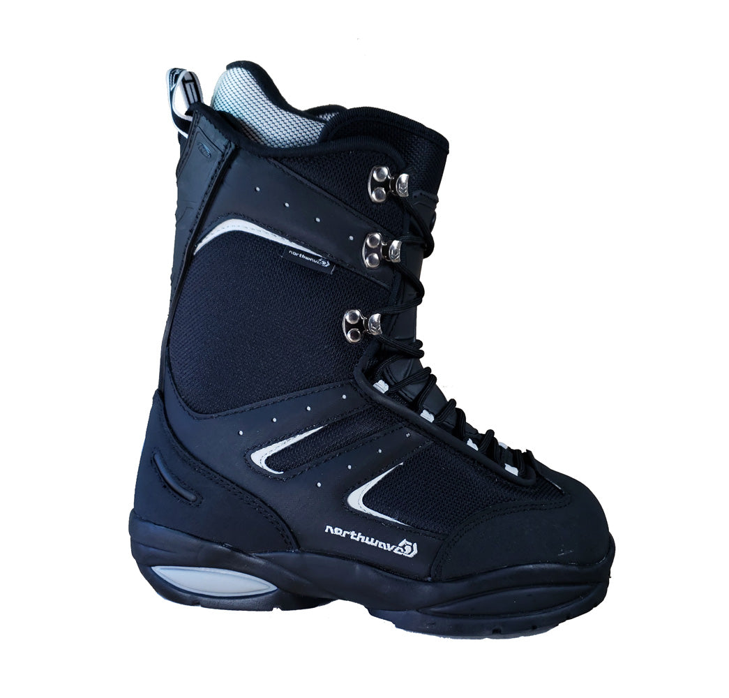 Northwave Fury impact Snowboard Boots Black, Kids size 5