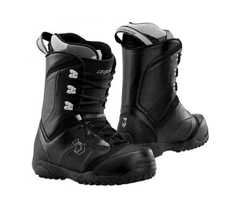 Northwave Legend Snowboard Boots Black, Womens 5 (kids 3.5)