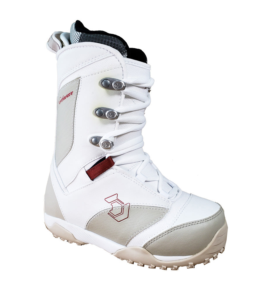 Northwave Legend , Snowboard Boots White Sand Mens 9 or Womens 10.
