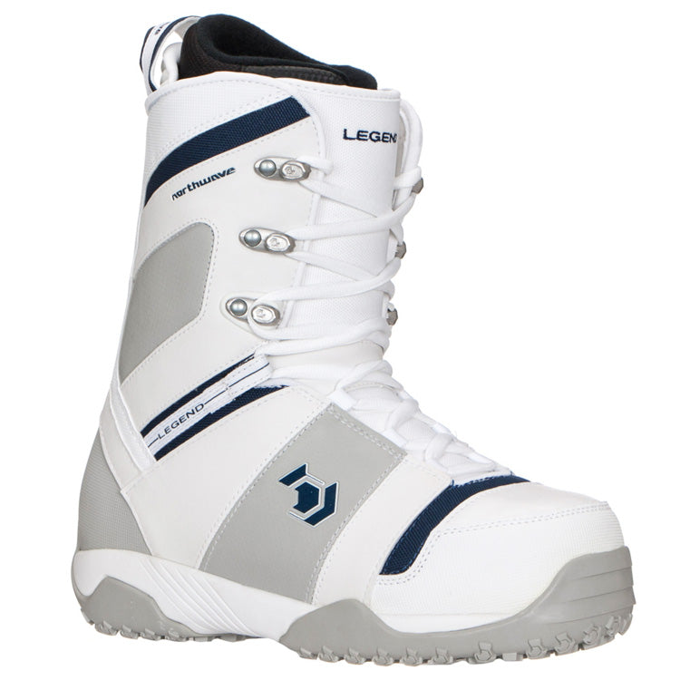 Northwave Legend Snowboard Boots White Blue Silver Women 10.5