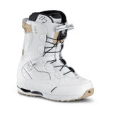 Northwave Opal Super Lace Snowboard Boots White Gold Womens 5.5 (Girls 3.5)