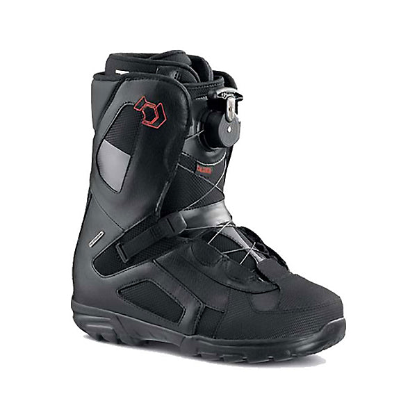 Northwave Traffic Caliber Snowboard Boots, T-Track System, Black, Mens 8.5 Euro 41