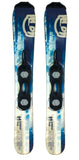 99cm O5 Blue Wide SkiBoards snowblades mini ski skiblades +Bindings Package