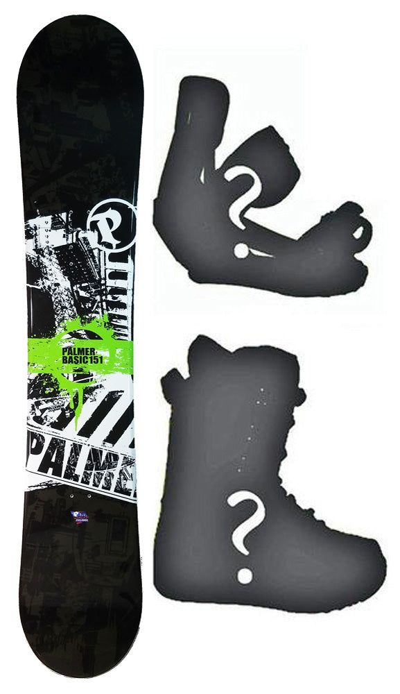 150cm Palmer Basic Camber Mens Blem Snowboard, Build a Package with Boots and Bindings.