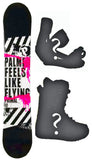 151cm Palmer Primal, Camber Mens Blem Snowboard, Build a Package with Boots and Bindings.