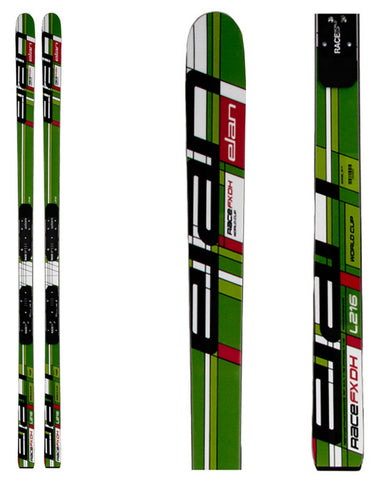 Elan Race FX-DH Model G17 Plate 216cm Mens Skis