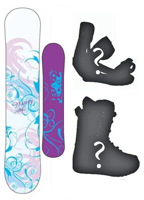 140cm Radical Victory Camber Womens Snowboard, Build a Package with Boots and Bindings.