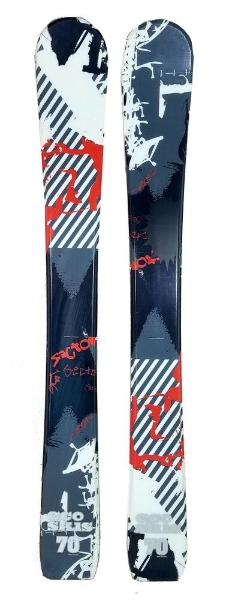 70cm Eco Sector Jr. Blem Skis, Ski Blades, Ski Board.