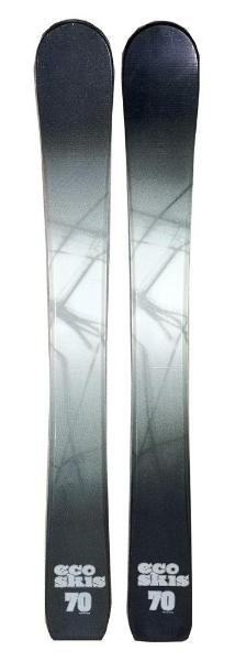 70cm Eco Shadow Jr. Blem Skis, Ski Blades, Ski Board.