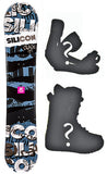 151cm Silicon Crack Camber Snowboard, Build a Package with Boots and Bindings.