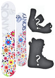 140cm Sionyx Bloom, Camber Womens Snowboard, Build a Package with Boots and Bindings.