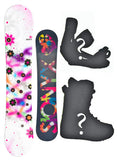 140cm Sionyx Lepus, Camber Womens Snowboard, Build a Package with Boots and Bindings.