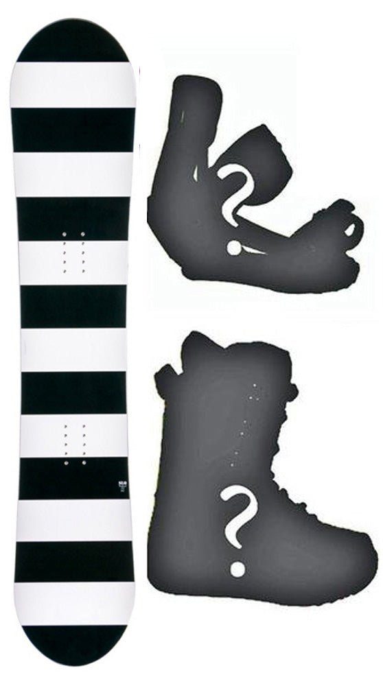 142cm SLQ Full Out DC W-Camber Womens Snowboard, Build a Package with Boots and Bindings.