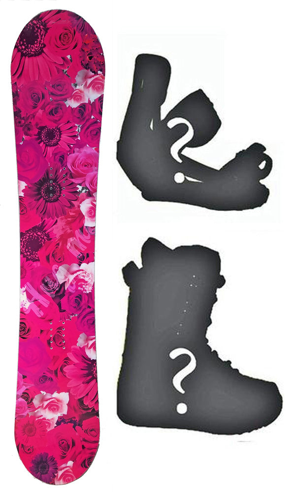 144cm Stella Hug Me Pink W-Camber Womens Snowboard, Build a Package with Boots and Bindings.