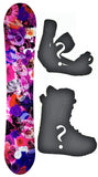 142cm Slq DC Secret W-Camber Womens Blem Snowboard, Build a Package with Boots and Bindings.