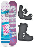 140cm Stella Beauty, Camber Womens Snowboard, Build a Package with Boots and Bindings.