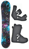 140cm Stella Cosmic, Camber Womens Blem Snowboard, Build a Package with Boots and Bindings.