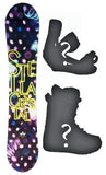 140cm Stella Crystal Camber Womens Snowboard, Build a Package with Boots and Bindings.