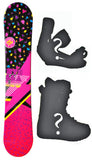 140cm Stella Leo Black, Camber Womens Snowboard Build a Package with Boots and Bindings.