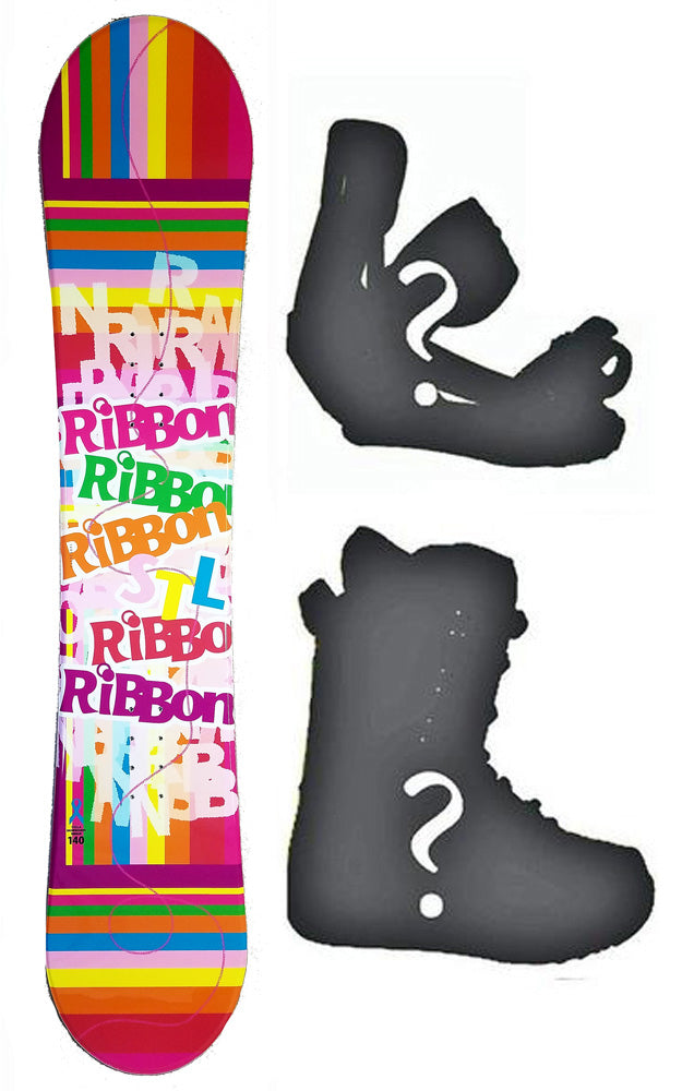 144cm Stella Ribbon Pink, Camber Womens Snowboard, Build a Package with Boots and Bindings.