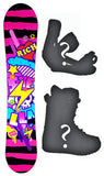 140cm Stella Rich Pink Camber Womens Snowboard, Build a Package with Boots and Bindings.