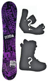 140cm Stella Splash , Rocker Womens Snowboard, Build a Package with Boots and Bindings.