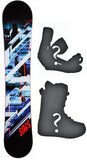 157cm  Sims Source Rocker Snowboard, Build a Package with Boots and Bindings