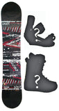 154cm  Spoon Future Rocker Snowboard, Build a Package with Boots and Bindings
