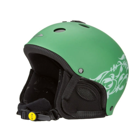 SwissBrand CP Blow Adjustable Snowboard Ski Helmet Green Black S M L XL 2nd