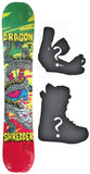 156cm  Technine Dragon Shedder Rocker Snowboard, Build a Package with Boots and Bindings