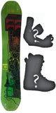 Technine Elements W-Camber Snowboard, Build a Package with Boots and Bindings