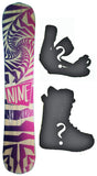 155cm  Technine Elements Rocker Snowboard, Build a Package with Boots and Bindings