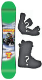 154cm  Technine LM Pro Monster Rocker Snowboard, Build a Package with Boots and Bindings