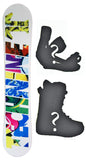 146cm  Technine T-Money Rocker Snowboard, Build a Package with Boots and Bindings