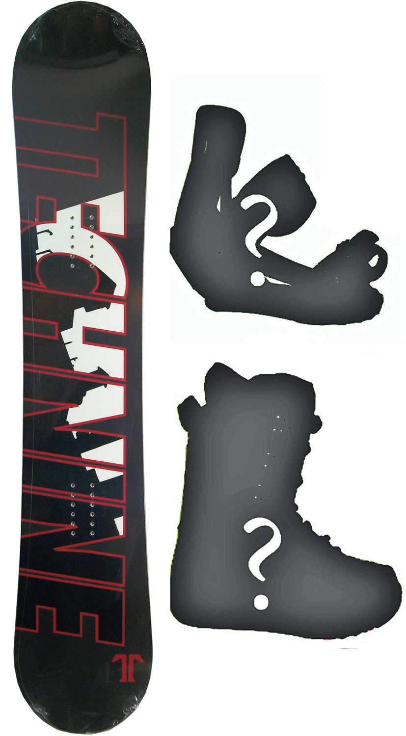 153cm  Technine T-Money Rocker Snowboard, Build a Package with Boots and Bindings