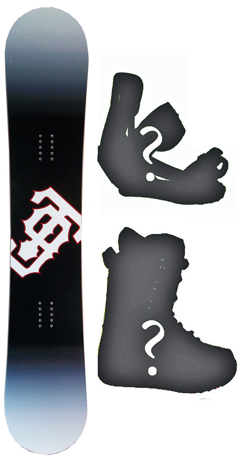 154cm  Technine T9 Rocker Snowboard, Build a Package with Boots and Bindings