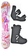 140cm Vision Comic Camber Womens Snowboard, Build a Package with Boots and Bindings.