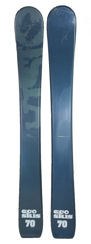 70cm Eco Vision Mix Jr. Blem Skis, Ski Blades, Ski Board.
