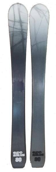 80cm Eco Web  Jr. Blem Skis, Ski Blades, Ski Board.