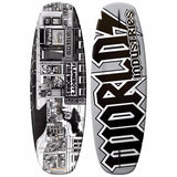135cm World Industries Stick O-Rama Wakeboard + Fins Mens Womens Kids Youth
