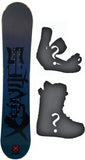 90,95,100cm X-Games Chopper Rocker Snowboard, or Build a Package with Boots and Bindings