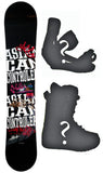 148cm ACC Casino W-Camber Snowboard, Build a Package with Boots and Bindings.