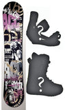 152cm ACC Casino Rocker *Blem* Snowboard, Build a Package with Boots and Bindings.