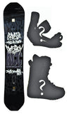 148cm ACC Rize Camber *Blem* Snowboard, Build a Package with Boots and Bindings.