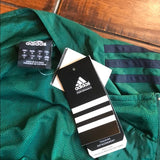 Adidas Revolve Track Tennis Warm Up Jacket Green Medium