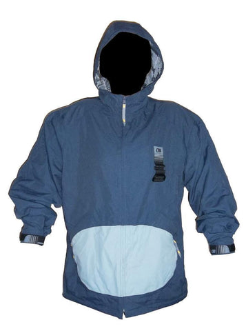 "Alphanumeric ""Elijah"" Pro Snowboard Jacket Navy-Grey Large"