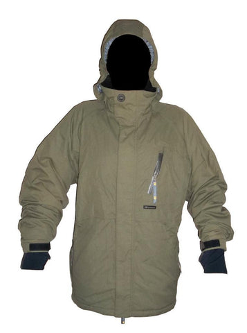 "Alphanumeric ""Ethan"" Pro Snowboard Jacket Brown Med"